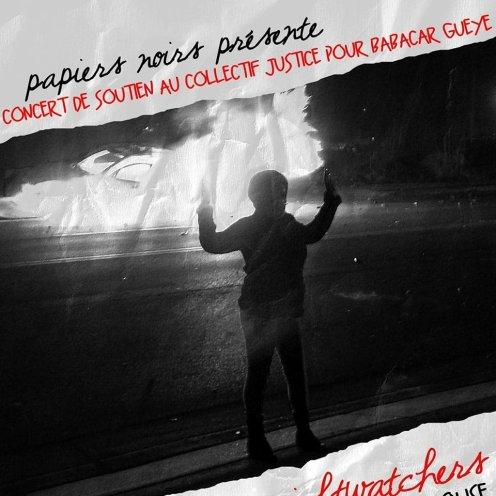 Concert de soutien du Collectif Papiers Noirs, Rennes